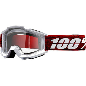 100% Accuri Anti Fog Clear Goggles Graham